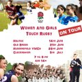 Women and Girls Touch Rugby 14th June