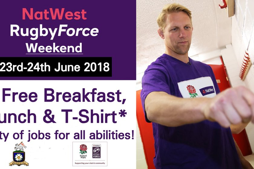 Rugby Force Weekend 23rd-24th June