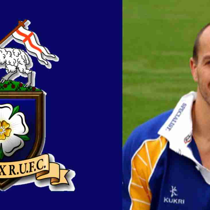 Craig Emmerson joins the coaching team at Halifax RUFC