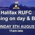 Signing on Day & BBQ @ Halifax RUFC (5th August 2018)