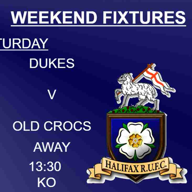 Halifax RUFC weekend preview 22/9/2018 (1xv, Dukes & Ladies)