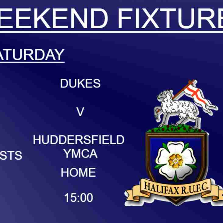 1xv and Dukes at home on Saturday, Ladies away to Bishop Auckland on Sunday