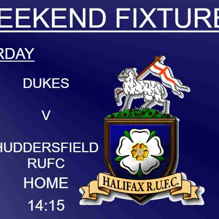 Halifax RUFC weekend preview 8/12/2018 (1xv, Dukes & Ladies)