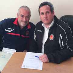 Adam Flint is named as Witham Town's permanent manager