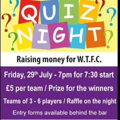 fund raising quiz night