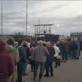 fans flock to spa road
