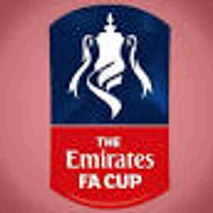 town crash out of fa cup