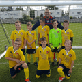 u10s yellows b/w osea beat woodham radars 2 - 3