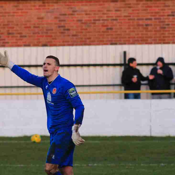 Clean sheets are a source of pride for Witham Town's players