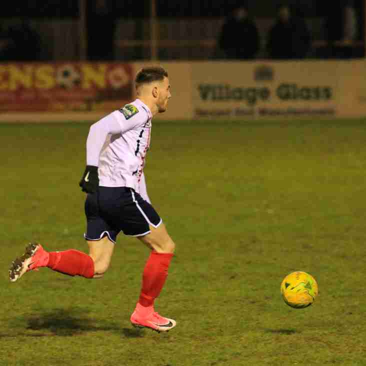 Correy Davidson feels display against Heybridge Swifts shows there's more to come from Witham Town