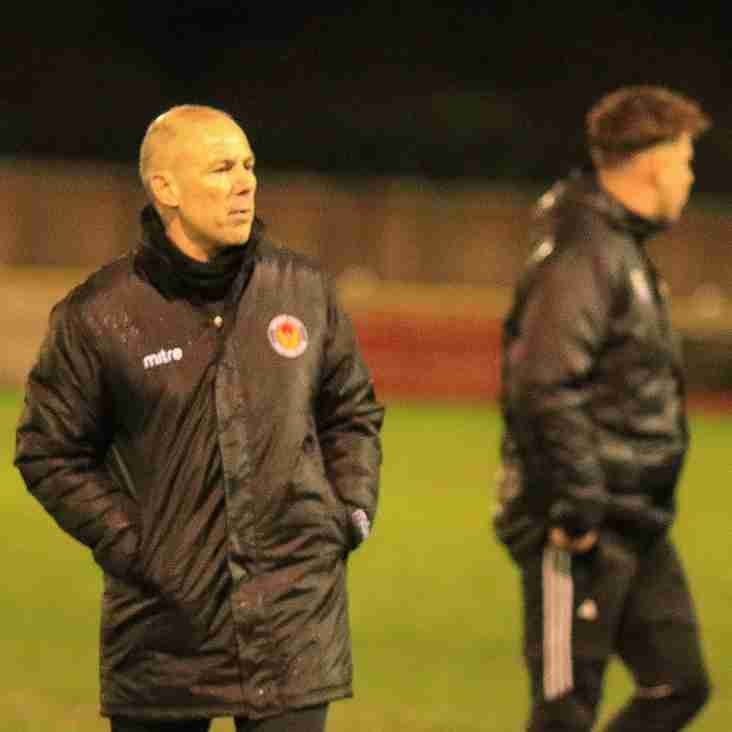 Hit the ground running says Witham Town boss Ashford