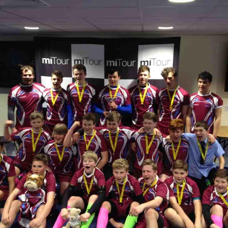 North Wales Challenge Bowl Winners 2015