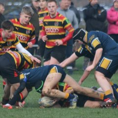 Bradford & Bingley U16 V West Leeds U16 (Yorks Bowl Semi) 05/02/2017