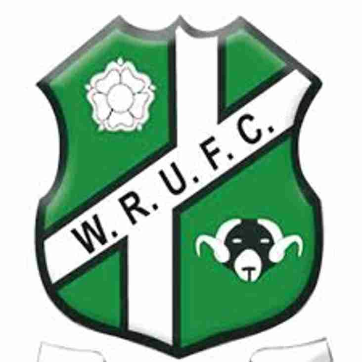 Under 17 Junior Colts are drawn away at Wharfedale in Yorkshire Cup Round 2