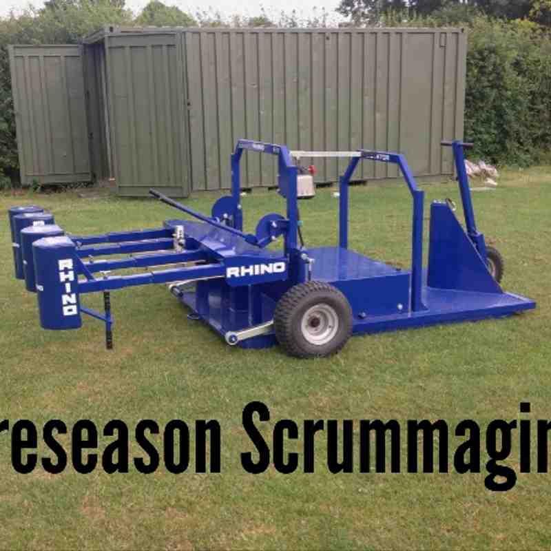 Preseason 2013 - Scrumaging