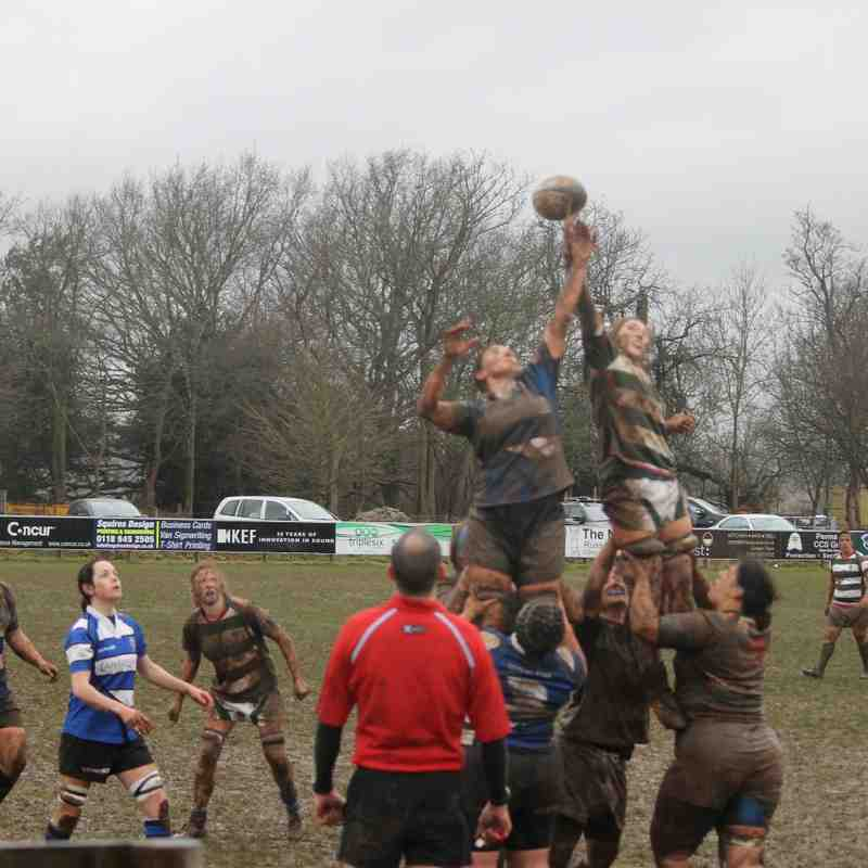 Reading Ladies v Bath 22nd Feb 2015