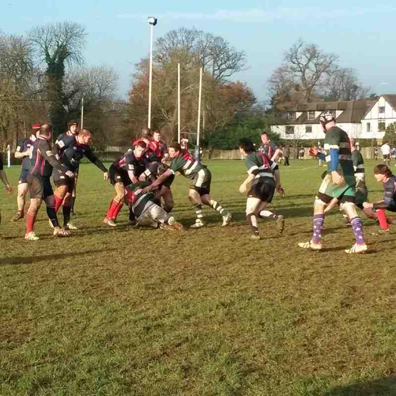 Saxons v Thatcham III - 29th November 2014