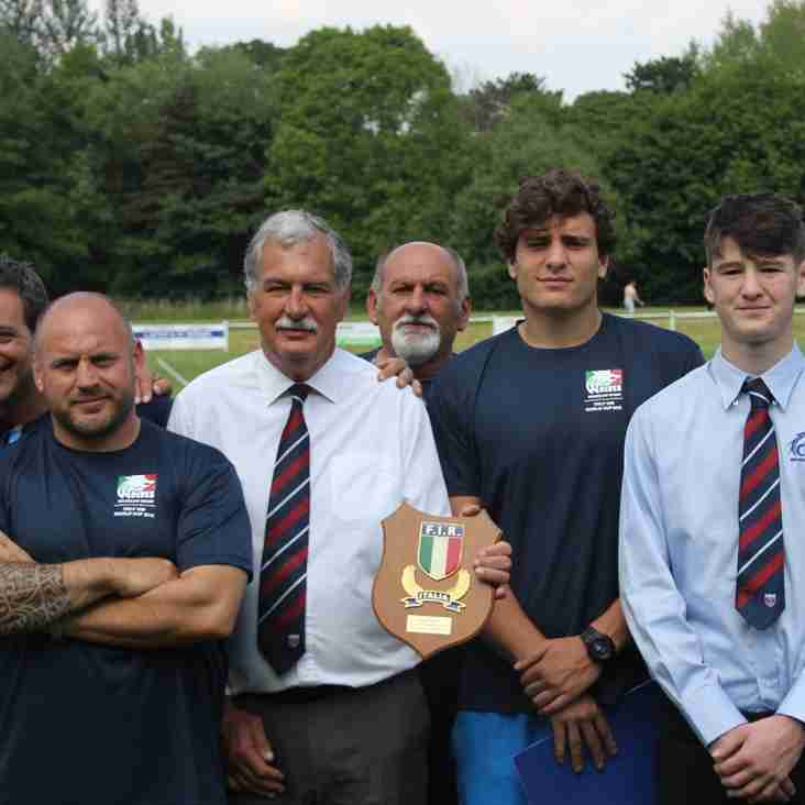 Italy's Under 20 Rugby Union Squad sets up base camp at Wilmslow RUFC