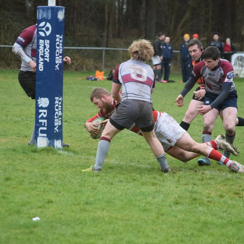 Thetford XV through to the next round of the junior vase