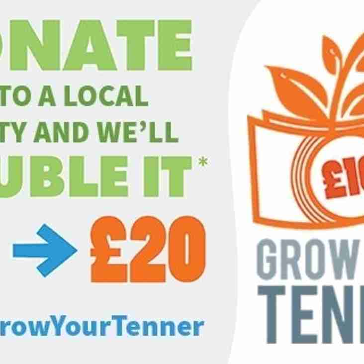 Grow Your Tenner Tuesday 18th October starts 10.00am