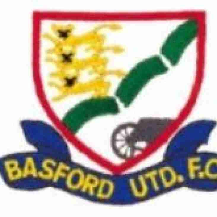 Basford United v Borrowash Victoria - Tuesday 12th March