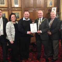 Pumas Chairman honoured at Council Civic awards