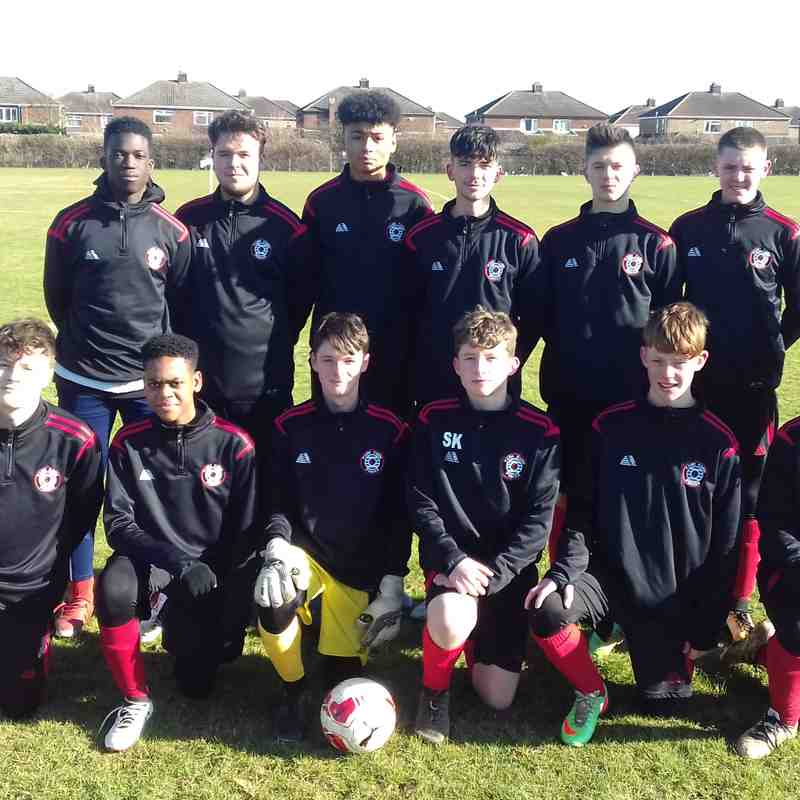 U15 Blue - Hunts FA County Cup Finalists