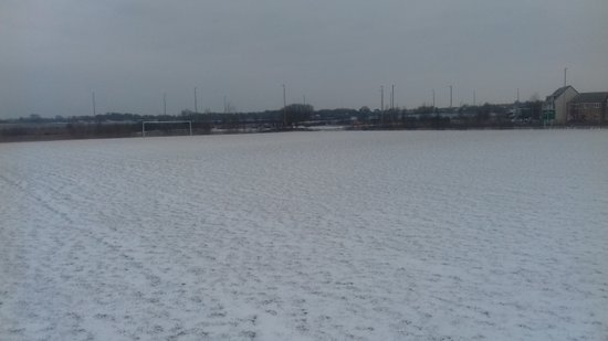 Snow stops play on Pumas Pitches