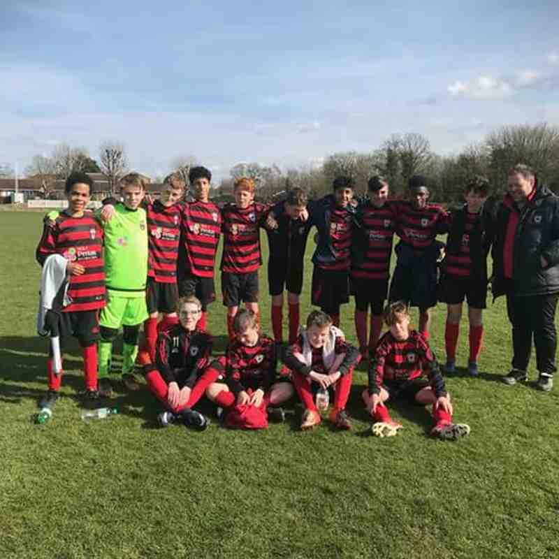 U13 Reds into League Cup Final