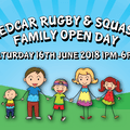 Redcar Rugby & Squash Family Fun Open Day
