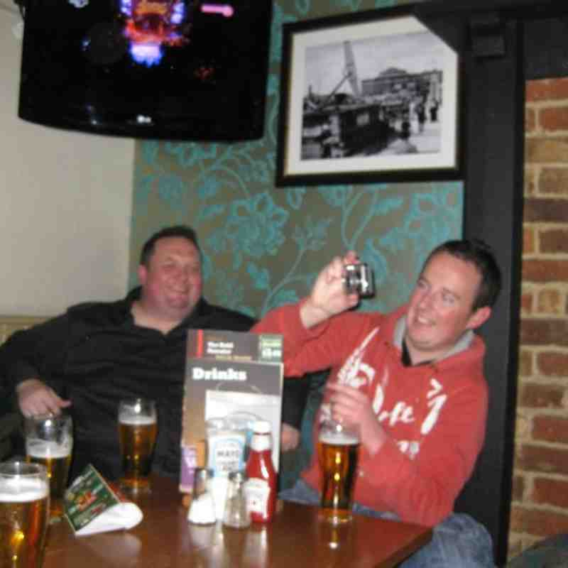 Footscray Gentleman's Away Day 2010 - Portsmouth