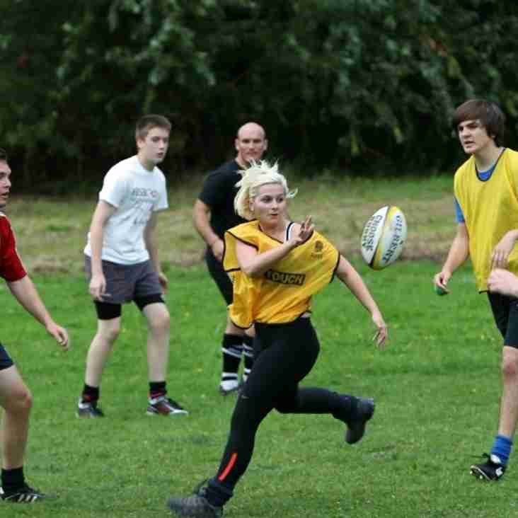 New players wanted - TOUCH. Free fitness for the Summer