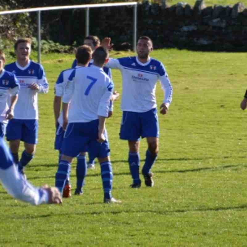 Bro Goronwy v Trearddur Bay United 13/10/12.