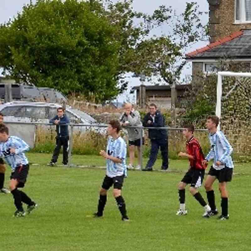 Bro Goronwy Under 16's v Caernarfon Cae Glyn