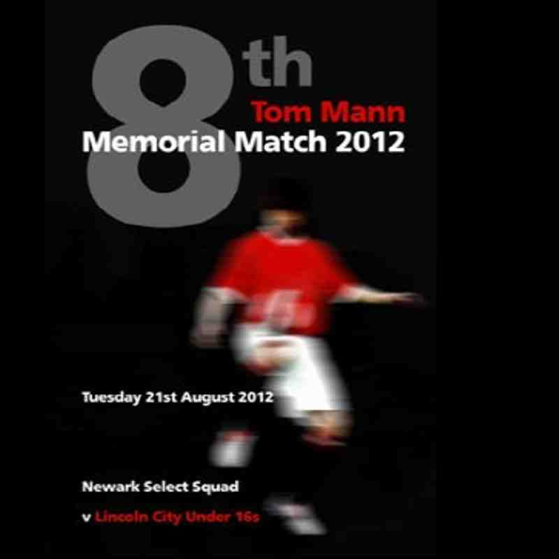 The 8th Tom Mann Memorial Match 2012