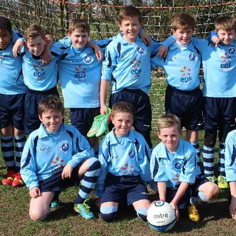 15.03.14 Under 11s Newark Town v RHP Colts Green