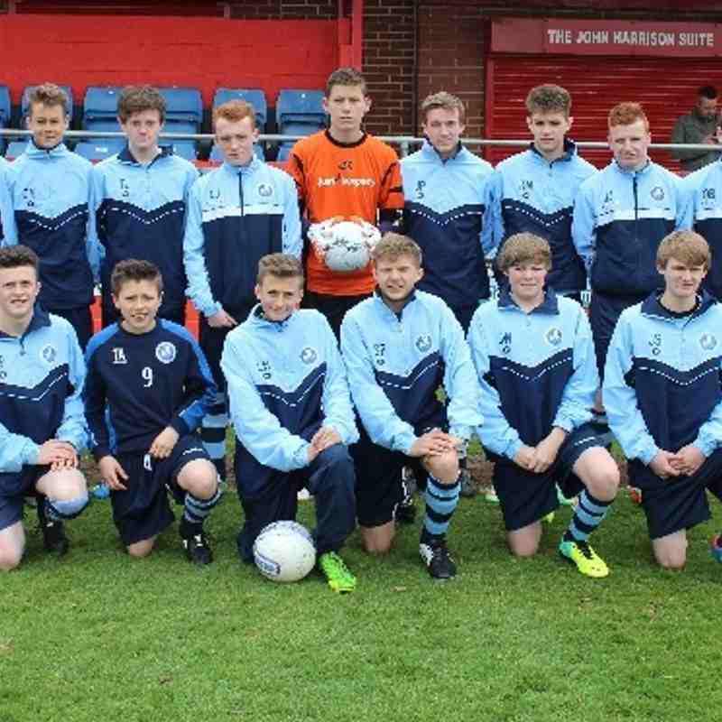 12.04.14 Under 15s Newark Town v Chesterfield Town
