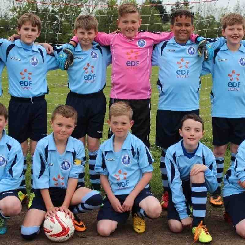 05.05.14 Under 11s League Cup Final: Newark Town v Radcliffe Olympic