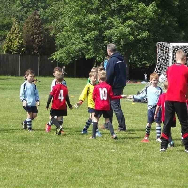 06.06.2015 Newark Town U7s v Blidworth Welfare U7s