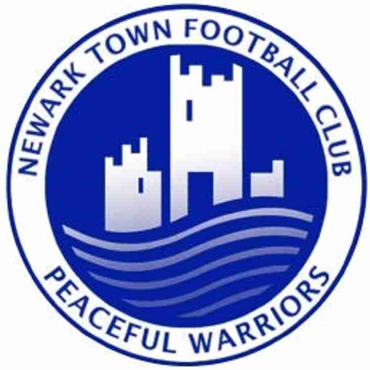 Newark Town FC junior section registration