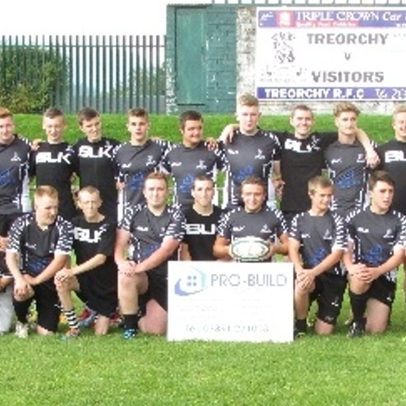Treorchy Youth looking for Friendly Fixtures for season 2015-2016