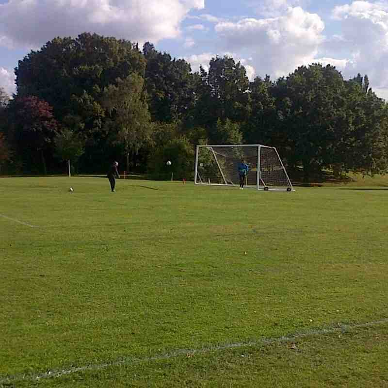 Barkingside Reserves v Bishop's Stortford Development - 01/10/2016 - By Jimmy Flanaghan