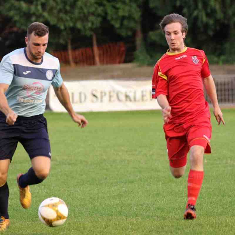 Barkingside v Burnham Ramblers - 26/08/2017 - By Phil Lindhurst