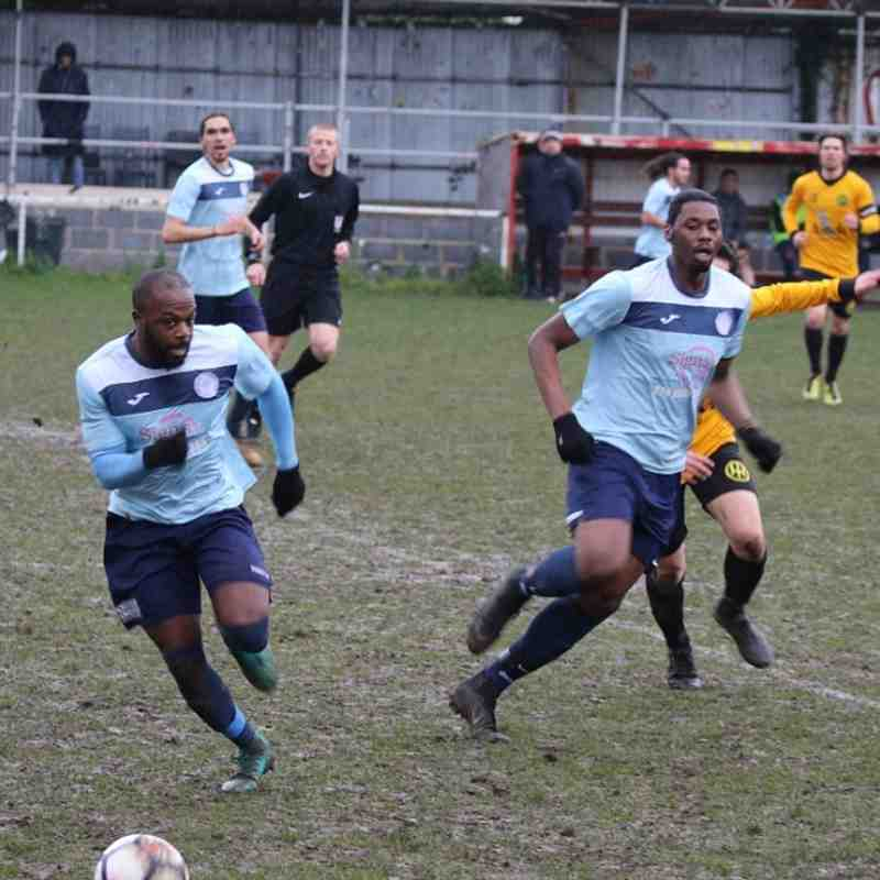 Hackney Wick v Barkingside - 03/02/2018 - By Phil Lindhurst