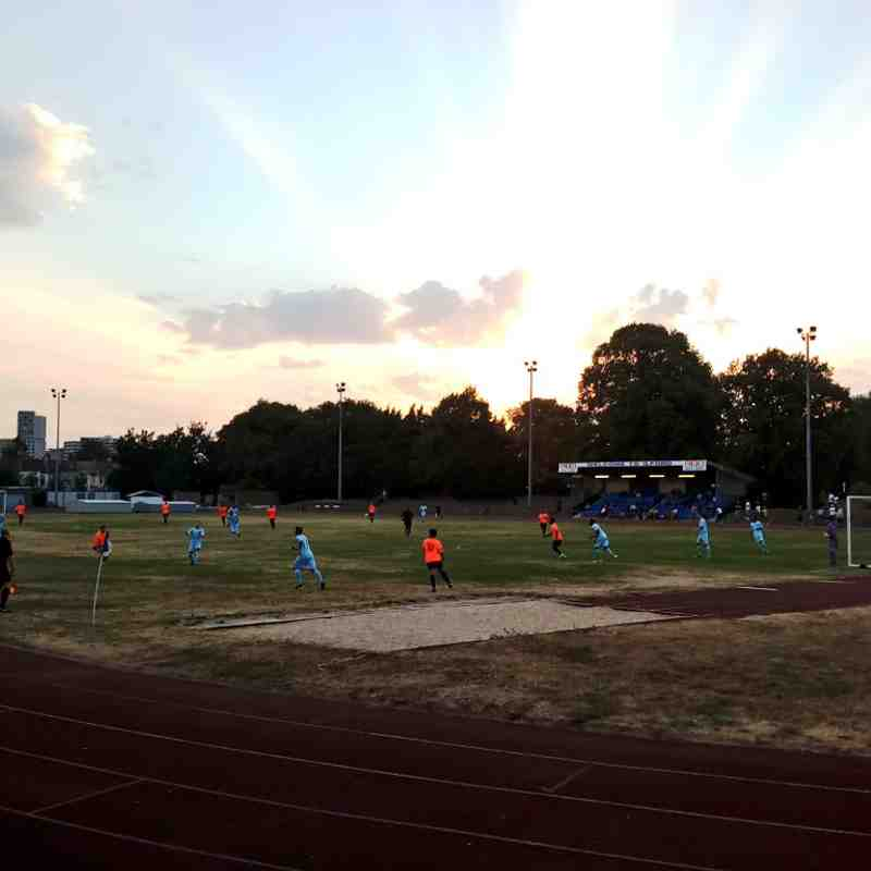 Barkingside v Sporting Bengal United - 06/08/2018 - By Jimmy Flanaghan & Andrew Fleming