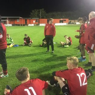 Riccios 18s March on in the FA Youth Cup