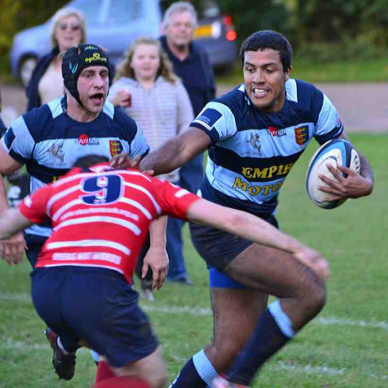 Dover Sharks RFC 1XV vs Charlton Park RFC 1XV 2014/2015