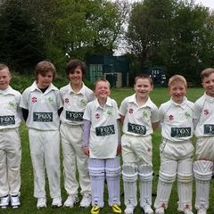 U11s at Upper Hopton CC