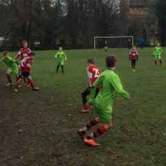 The U12s Blacks march on to the next round of the Cup.....