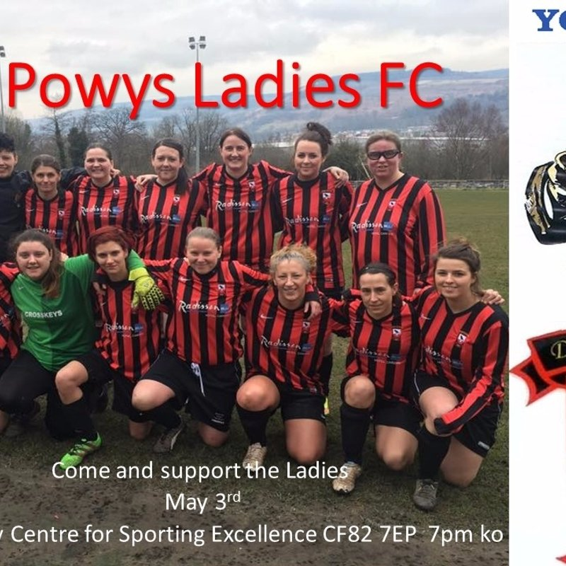 Tue 3 May, 2016  SWWGL Women's League Final